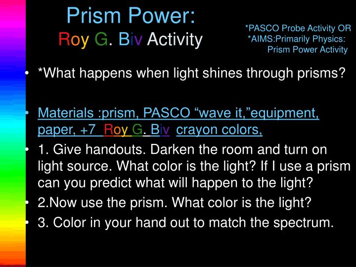 Prism Power: