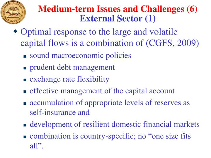 Medium-term Issues and Challenges (6)