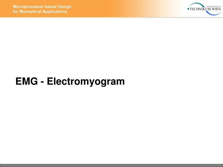 EMG - Electromyogram