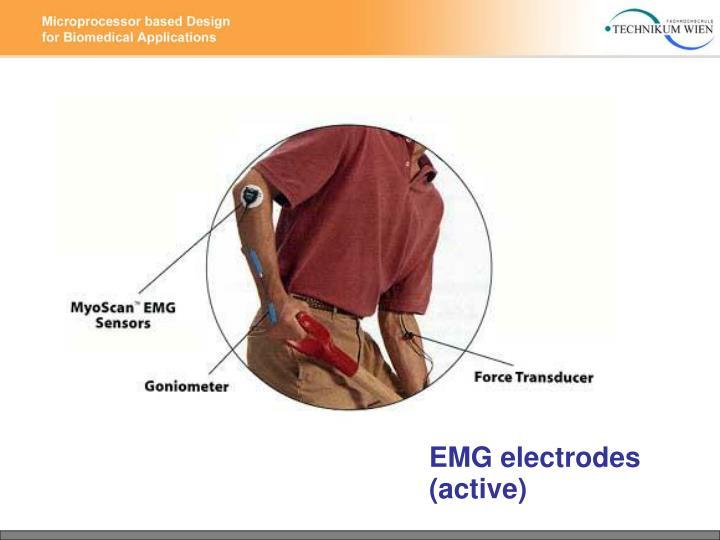 EMG electrodes