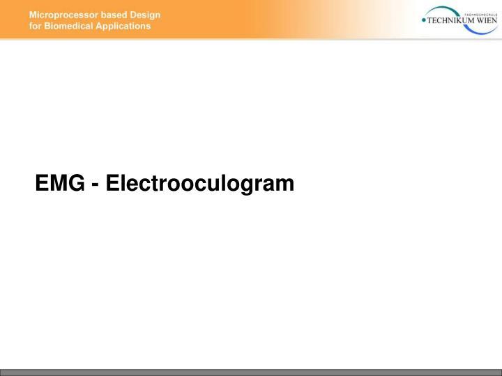 EMG - Electrooculogram