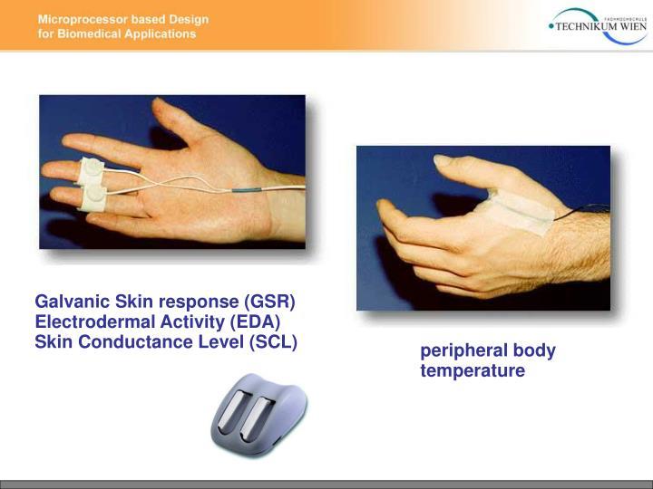 Galvanic Skin response (GSR)