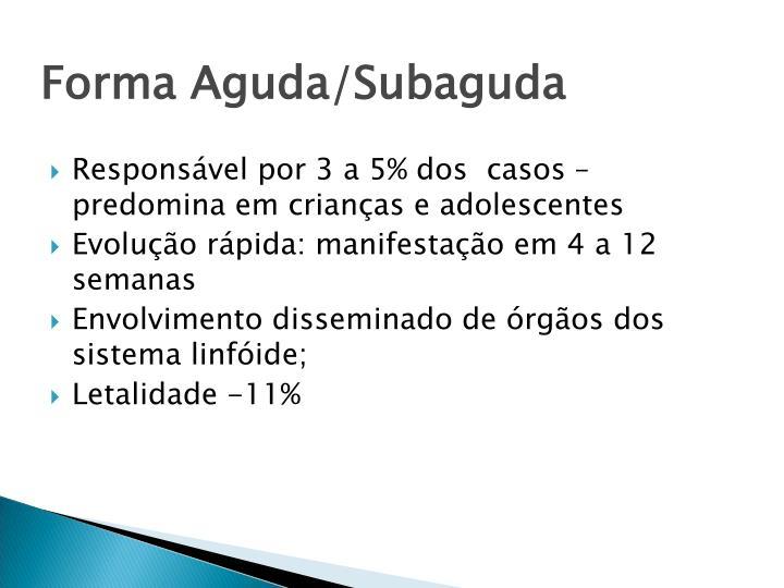 Forma Aguda/Subaguda