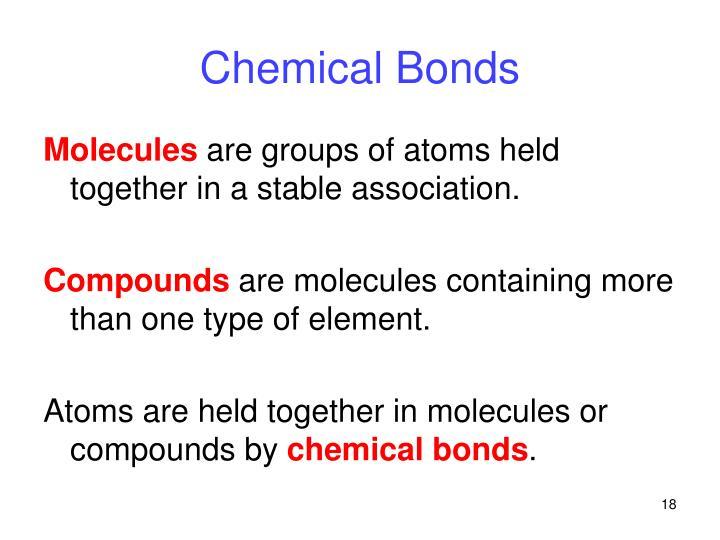 Chemical Bonds