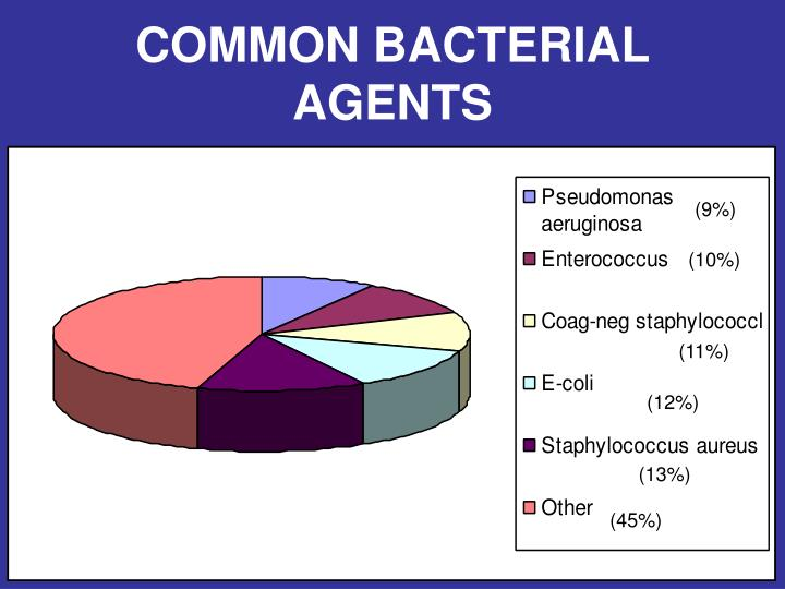 COMMON BACTERIAL  AGENTS