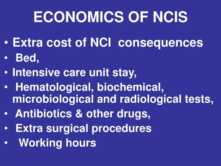 ECONOMICS OF NCIS