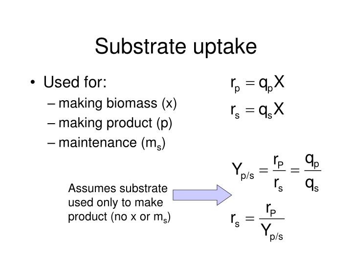 Assumes substrate
