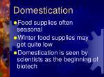 domestication1