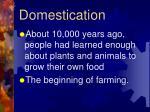 domestication8