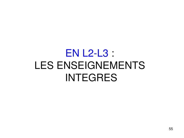 EN L2-L3