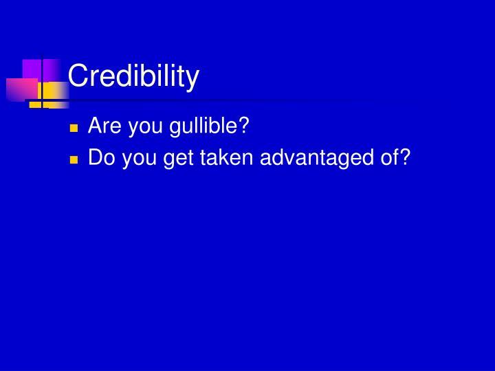 Credibility1