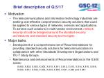 brief description of q 5 17