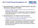q 5 17 draft recommendations 2 2