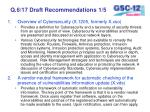 q 6 17 draft recommendations 1 5
