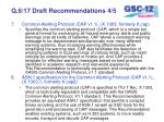 q 6 17 draft recommendations 4 5