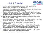 q 6 17 objectives