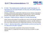 q 8 17 recommendations 1 3