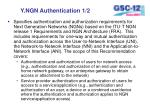 y ngn authentication 1 2