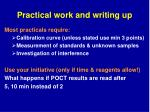 practical work and writing up1