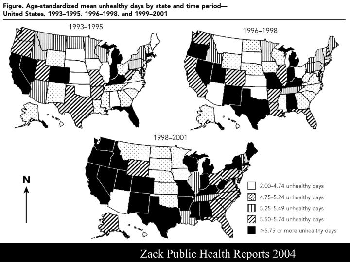 Zack Public Health Reports 2004