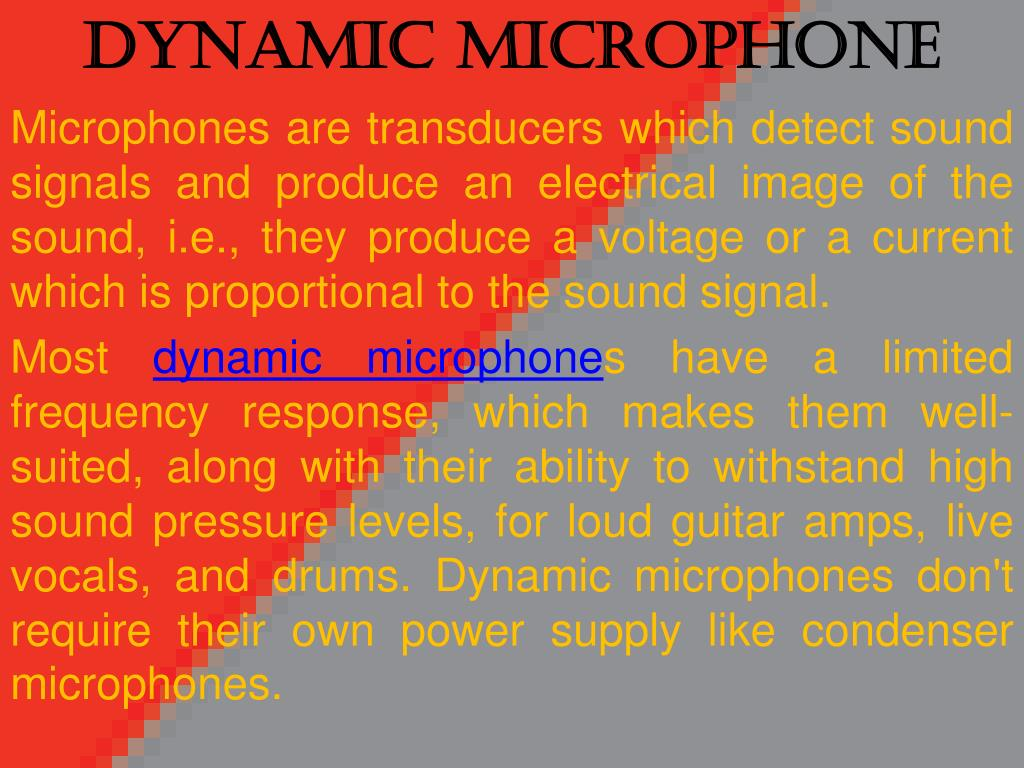 dynamic microphone l.