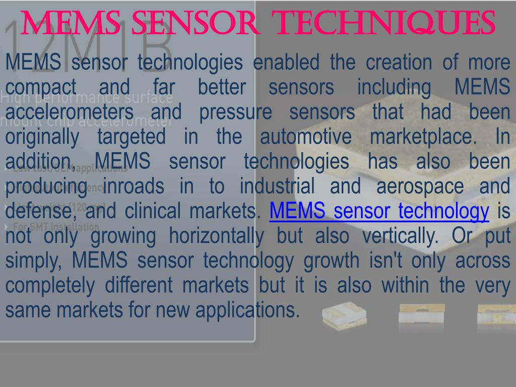MEMS Sensor Techniques