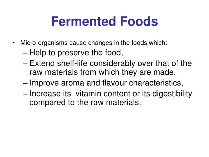 Fermented foods1
