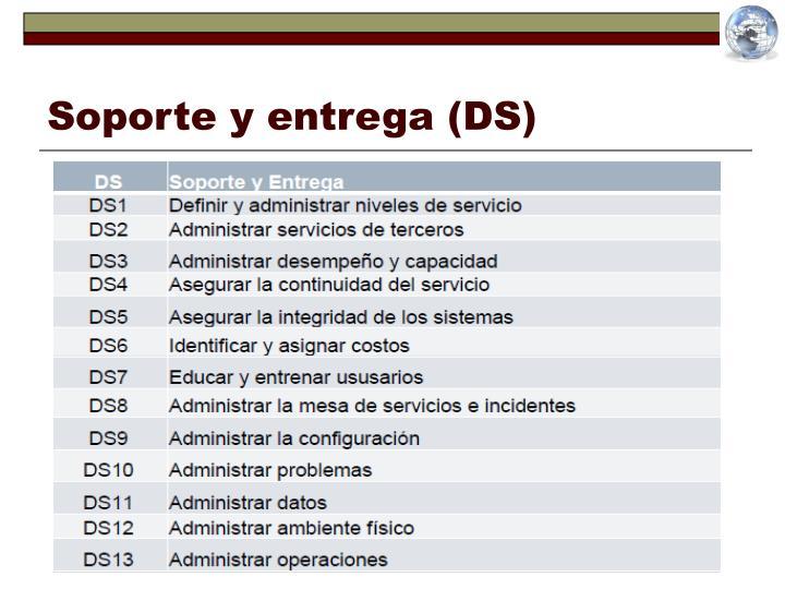 Soporte y entrega (DS)