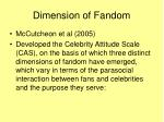 dimension of fandom