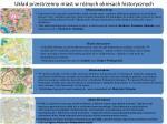 uk ad przestrzenny miast w r nych okresach historycznych
