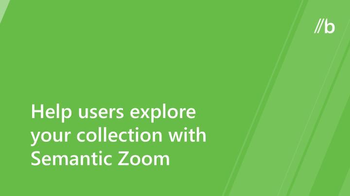 Help users explore
