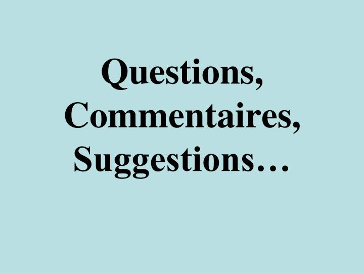 Questions,