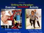overview shifting the paradigm
