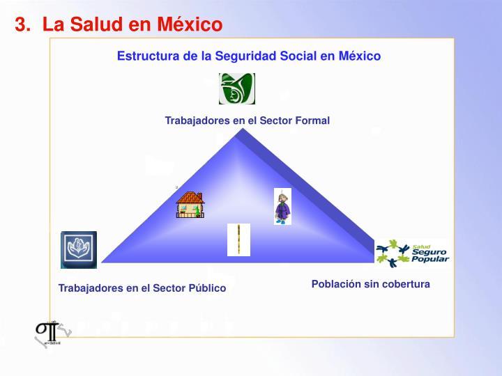 3.  La Salud en México