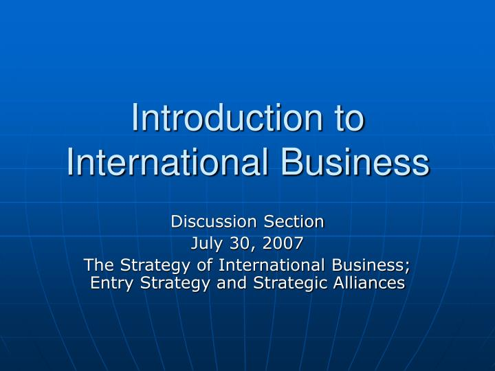 international business midterm review International business law (prelim and midterm) - download as word doc (doc), pdf file (pdf), text file (txt) or read online.