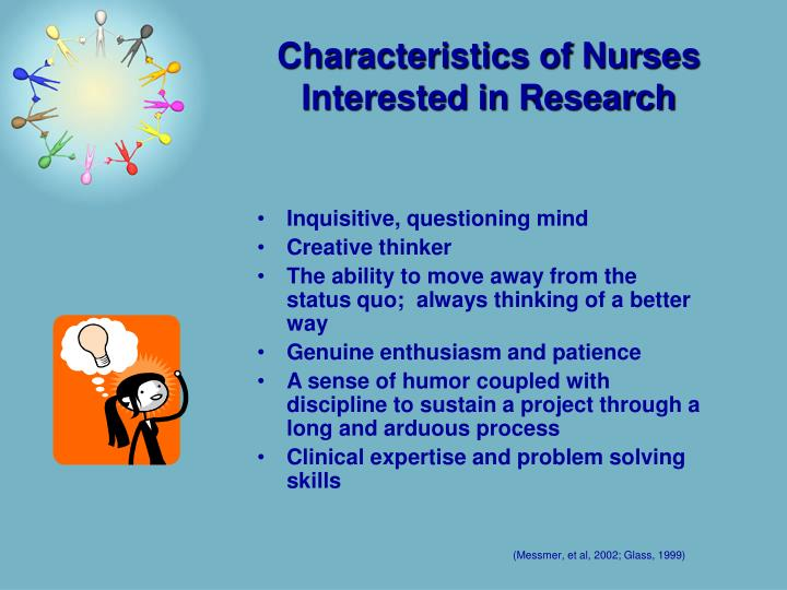 Characteristics of Nurses Interested in Research