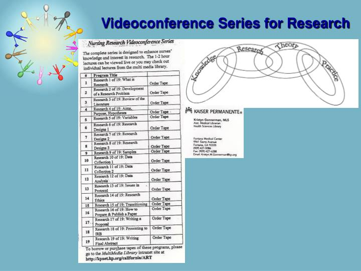 Videoconference Series for Research