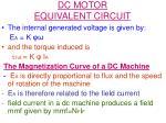 dc motor equivalent circuit2