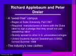 richard applebaum and peter dreier1