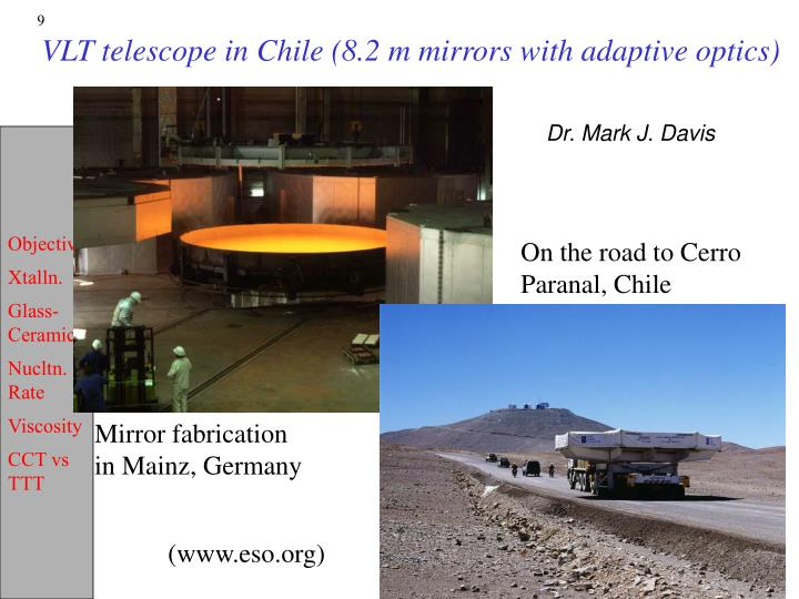 On the road to Cerro Paranal, Chile