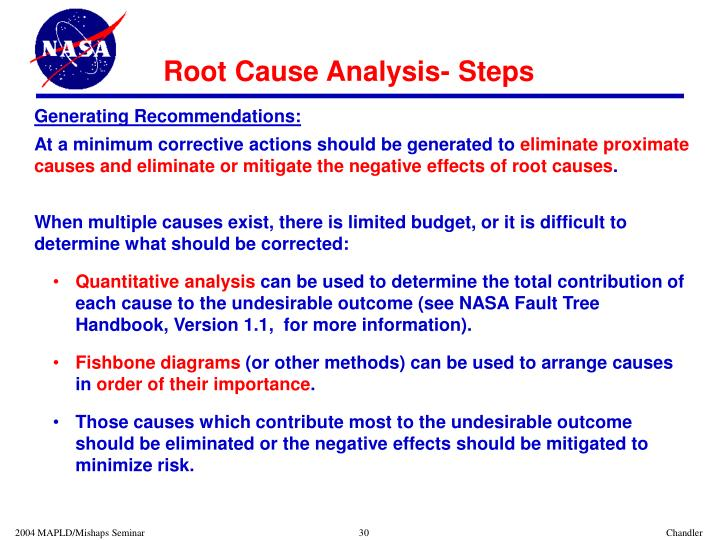 PPT - Using Root Cause Analysis To Understand Failures ...