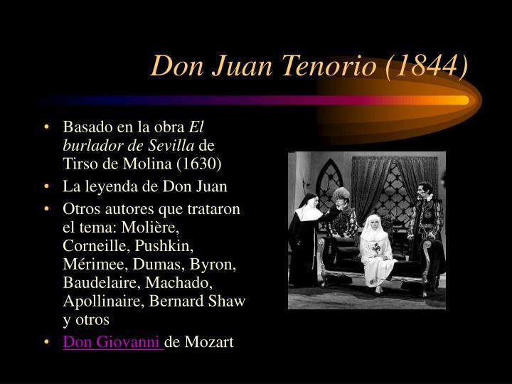 Don Juan Tenorio (1844)