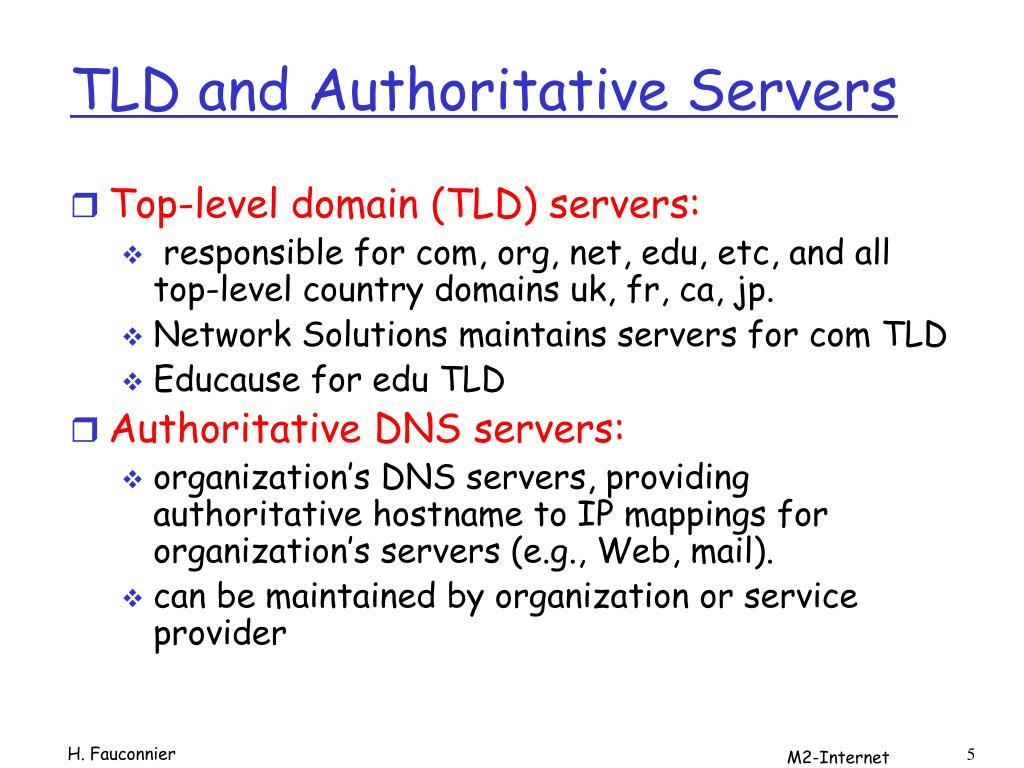 PPT - DNS: Domain Name System PowerPoint Presentation - ID