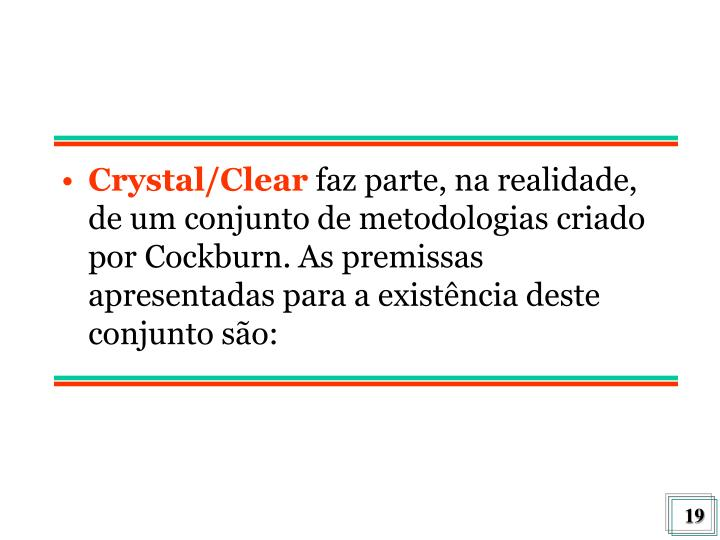 Crystal/Clear