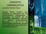 concepto criminal stica