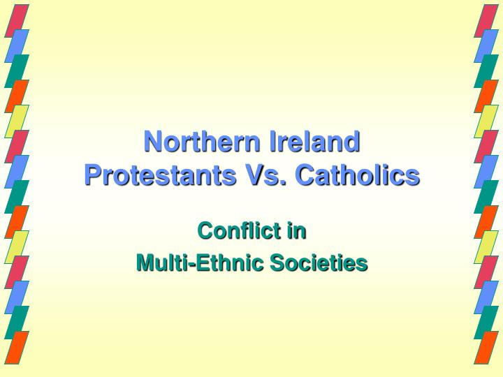 conflict in northern ireland a background essay