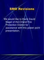 smo revisions