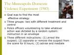 the minneapolis domestic violence experiment 1983