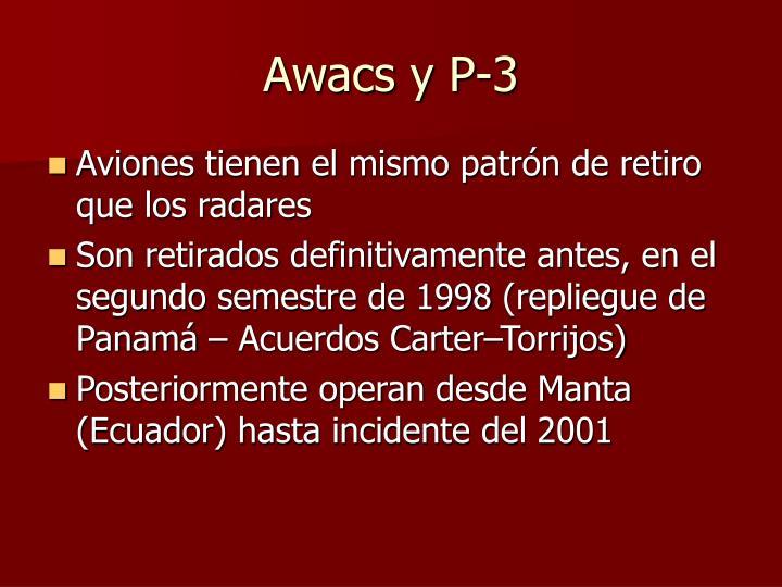 Awacs y P-3