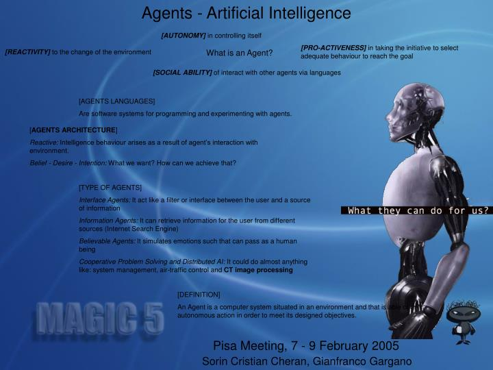 Agents - Artificial Intelligence